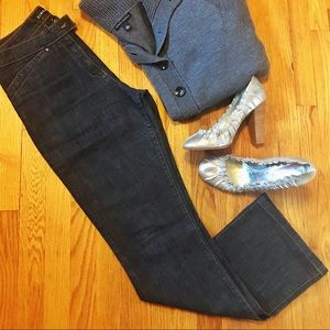 Bebe Dark Wash Jean Slacks